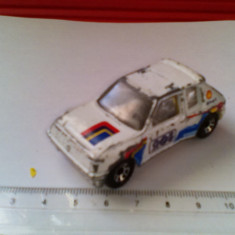 Bnk jc Matchbox - Peugeot 205 Turbo I6 - 1/55 - Macheta auto