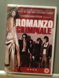 "DVD Drama - ""ROMANZO CRIMINALE"" CRIME NOVEL (2005/Engleza/Italiana) -Nou/Sigilat, warner bros. pictures"