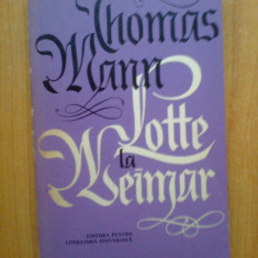 i Lotte la Weimar - Thomas Mann