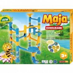 Set De Joaca Labirint De Bile 37 Piese Si 7 Bile Albinuta Maia - Jocuri arta si creatie Lena