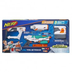 Pusaca Nerf Modulus Tri-Strike Blaster Toy - Pistol de jucarie Hasbro