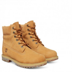 Ghete Timberland AF Icon 6 Inch Premium Boots Waterproof A13YK nr. 40 si 41, 5 - Ghete barbati Timberland, Culoare: Din imagine, Piele intoarsa