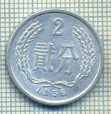 8341 MONEDA- CHINA - 2 FEN -anul 1956 -starea ce se vede, Africa