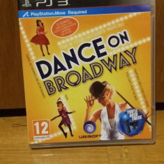 PS3 Dance on Broadway / MOVE obligatoriu - joc original by WADDER - Jocuri PS3 Ubisoft, Simulatoare, 3+, Multiplayer
