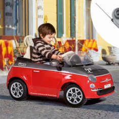 Peg Perego - Fiat 500 Red/Grey - Telecomanda