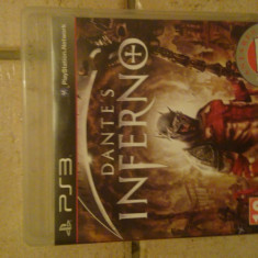 Dante's Inferno joc PS3 - Jocuri PS3 Electronic Arts