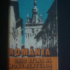 V. CUCU, M. STEFAN - ROMANIA * GHID ATLAS AL MONUMENTELOR ISTORICE - Ghid de calatorie