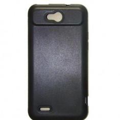 Husa Gel Silicon ZTE Grand X Quad Grip Neagra - Husa Telefon
