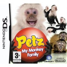 Petz My Monkey Family Nintendo Ds - Jocuri Nintendo DS Ubisoft