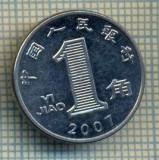 8320 MONEDA- CHINA - 1 JIAO -anul 2007 -starea ce se vede, Africa