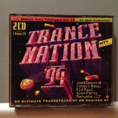 TRANCE NATION '94 - Various - 2CD (1994/Edel/GERMANY) - CD/ORIGINAL/stare F.Buna