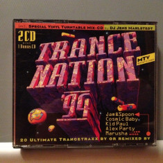TRANCE NATION '94 - Various - 2CD (1994/Edel/GERMANY) - CD/ORIGINAL/stare F.Buna - Muzica House universal records