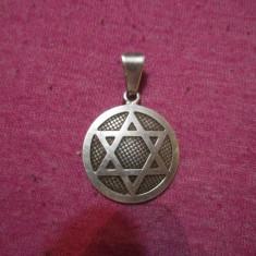 Medalion de argint marcat