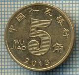8329 MONEDA- CHINA - 5 JIAO -anul 2013 -starea ce se vede, Africa