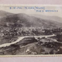 Tg-Ocna - vedere generala de pe muntele Magura, cenzurata, 1942