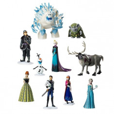 Set 10 De Figurine Frozen Deluxe Disney