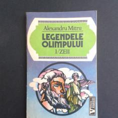 LEGENDELE OLIMPULUI ZEII Alexandru Mitru - Carte mitologie