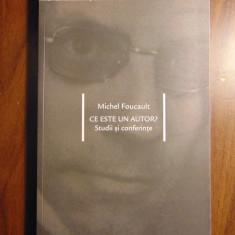 Ce este un autor? Studii si conferinte - Michel Foucault (2004) - Studiu literar