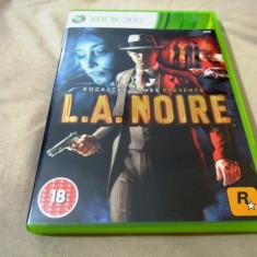 Joc LA Noire, XBOX360, original, alte sute de jocuri! - Jocuri Xbox 360, Actiune, 18+, Single player