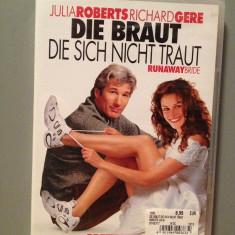 """DVD Comedie - """"RUNAWAY BRIDE""""(De Voie si Nesilita.../2002/Engleza ) -Nou/Sigilat - Film comedie paramount"""