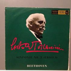 BEETHOVEN - SYMPHONY no 3 -A.TOSCANINI(1950/RCA REC/RFG) - Vinil/Vinyl/Impecabil - Muzica Clasica Altele