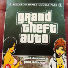 Joc GTA Double Pack, GTA III + Vice City, PS2, original, alte sute de jocuri! - Jocuri PS2 Rockstar Games, Actiune, 16+, Single player