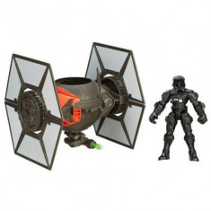 Jucarie Star Wars Hero Mashers Episode Vii Tie Fighter And Tie Fighter Pilot - Vehicul Hasbro