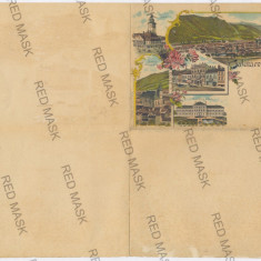 3701 - L i t h o, BRASOV, Proba Litografica - 1897 - Carte Postala Transilvania pana la 1904, Necirculata, Printata
