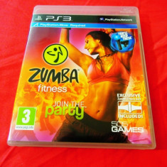 Joc Zumba Fitness, PS3, original! Alte sute de jocuri! - Jocuri PS3 Altele, Sporturi, 3+, Multiplayer