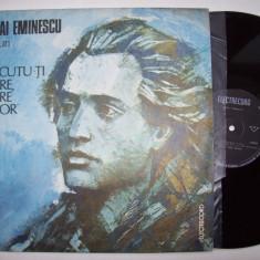 Disc vinil MIHAI EMINESCU - La trecutu-ti mare, mare viitor (versuri) EXE 03490 - Muzica soundtrack electrecord