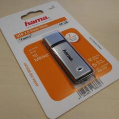 Stick USB 64GB HAMA - salvare transfer date memorie stocare portabila memory, USB 2.0