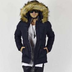 Geaca Barbati Zara David Beckham Model Gros De Iarna Cod Produs D714, Marime: L, XL, XXL, Culoare: Din imagine, Piele
