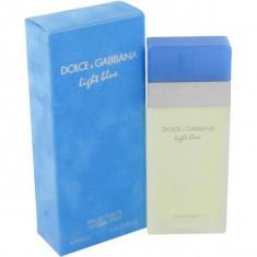 Parfum Dolce & Gabbana Light Blue 100 ml sigilat - Parfum femeie Dolce & Gabbana, Apa de toaleta