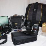 Nikon D80 + obiective si accesorii
