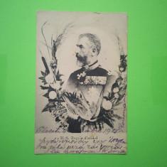 Familia Regala - M.S. Regele Carol I - Carte Postala Transilvania 1904-1918, Circulata, Fotografie
