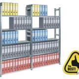 RAFT METALIC PROFESIONAL 7 POLITE 1200x500x3000 mm (lxAxH) 150 kg/polita, PLUS