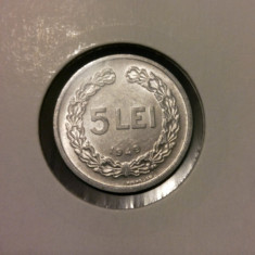 5 lei 1949 - Moneda Romania
