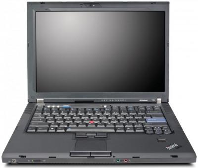"""Laptop Lenovo Thinkpad T61 T7250 2.00 Ghz, Ddr 2 Gb, Hdd 120 Gb, 15.4"""" foto"""