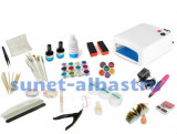 Kit UV Saturn, unghii false, gel, accesorii, manichiura