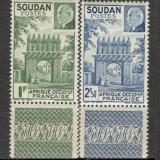 Sudan.1941 Maresal Petain SS.943, Nestampilat