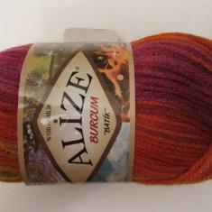 Alize Burcum Batik 3514 - Fir tricotat si crosetat