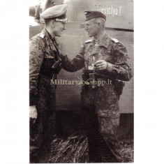 Binoclu Militar german, E. Leitz Wetzlar, conservare si functionare perfecta. - Binoclu/Ochean
