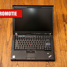Laptop Lenovo Thinkpad T61 T7100(1.8GHz), RAM 2 GB, Hdd 160 GB, 15.4