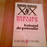 BAIATUL DE PRAVALIE -BERNARD MALAMUD - Roman, Anul publicarii: 1996