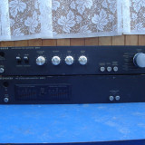 Amplificator final Telefunken STM-1 + preamplificator STP-1 - Amplificator audio