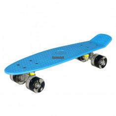 Penny Board/SkateBoard, roti 22 cu leduri