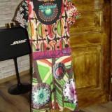 Rochie dama DESIGUAL originala - Rochie de zi, Marime: M, Culoare: Multicolor