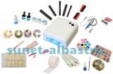 Set kit Star, unghii false, uv, pila electrica profesionala, 12 geluri colorate