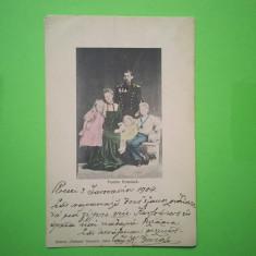 Familia Regala - Familia Princiara - Carte Postala Transilvania 1904-1918, Circulata, Fotografie