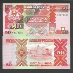 UGANDA 50 SHILLINGS, SHILINGI 1998 UNC [1] P-30c.4, necirculata - bancnota africa